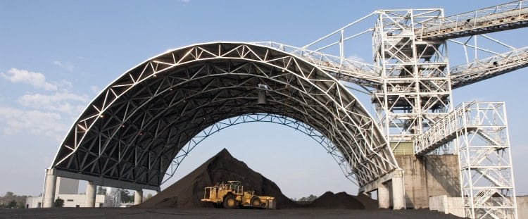 Coal Storage Vault And Dome Manufacturer Cst Industries